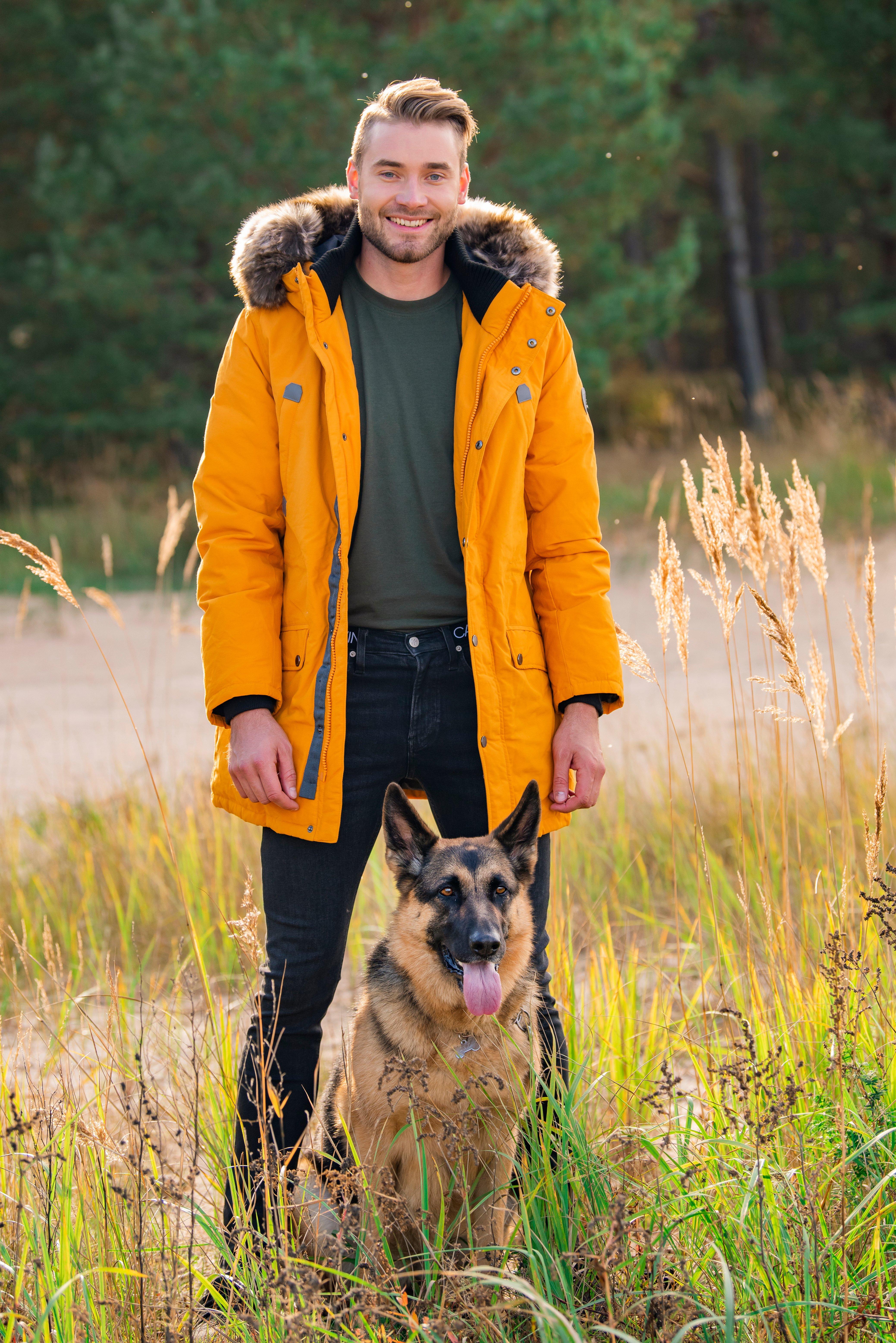Прогулка с собакой-260