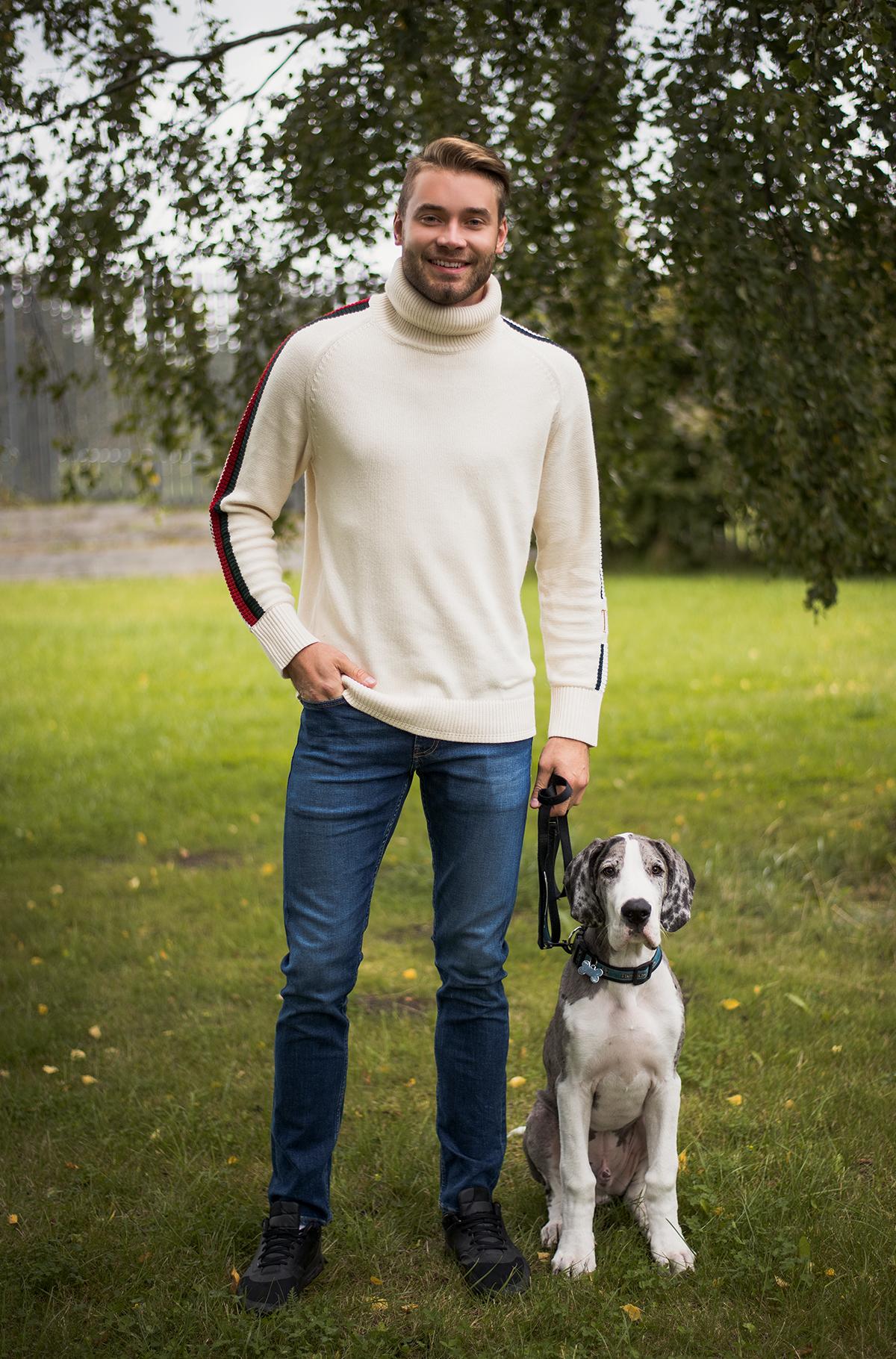 Теплый свитер на холодную погоду-305