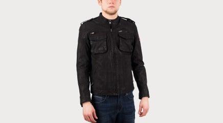 Pepe Jeans Leather jacket Harvey
