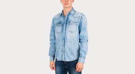 Pepe Jeans Džinsiniai marškiniai Carson