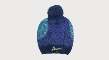 Desigual Müts Blue