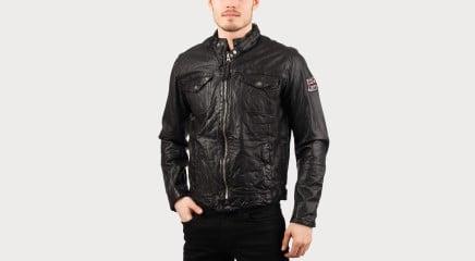 Pepe Jeans Leather jacket Guzzi