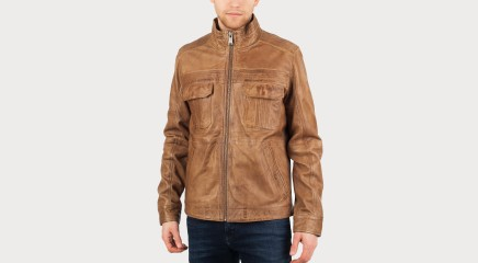 Guess Leather jacket M61L02