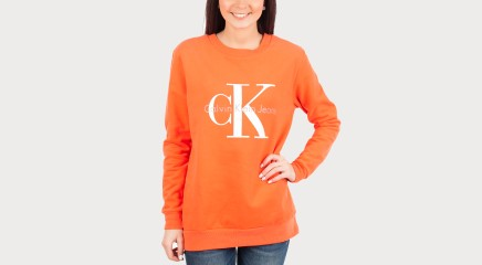 Calvin Klein спортивный свитер Crew neck HWK