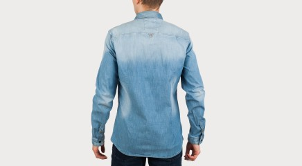 Guess Джинсовая рубашка M61H29 D20H0