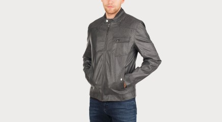 Guess Leather jacket M62L05