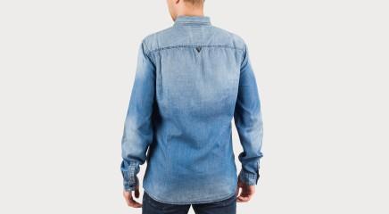 Guess Джинсовая рубашка M62H36