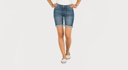 Pepe Jeans Lühikesed teksapüksid Poppy