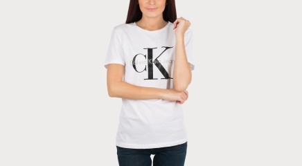 Calvin Klein T-krekls Shrunken True Icon