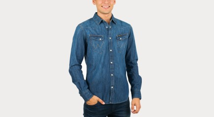 Wrangler Denim shirt  W5833O68E