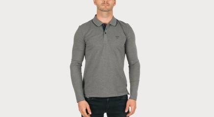 Guess Polo krekls ar garām piedurknēm M62P31