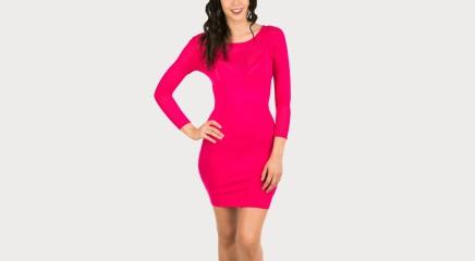 Guess Kootud kleit W62K26