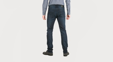 Calvin Klein Teksapüksid Slim Straight -Structured Mid Comfo