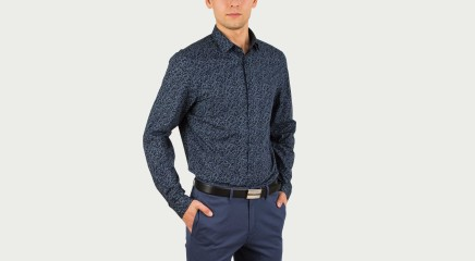 Calvin Klein Рубашка Wallace Abstract Lea