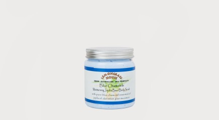 Lemongrass House Kehakoorija Body Scrub Jojoba Bead Blue Chamomile 300g