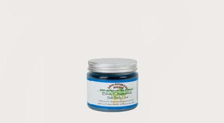 Lemongrass House Kehakoorija Body Scrub Blue Chamomile (Salt Glow) 200g