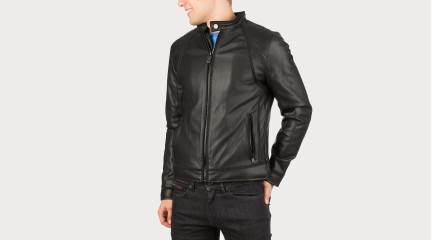 Guess Leather jacket M64L20