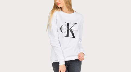 Calvin Klein спортивный свитер Crew Neck Hwk True Icon