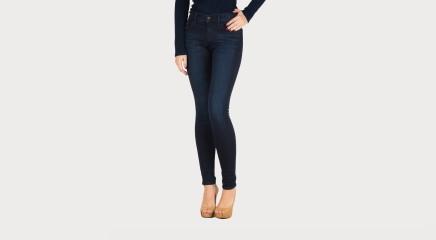 Calvin Klein Teksapüksid Mid Rise Skinny - Wonder Dark