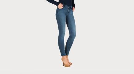 Calvin Klein Teksapüksid Mid Rise Skinny - Wonder Mid