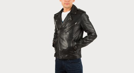 Tommy Hilfiger Nahktagi THDM Leather Biker