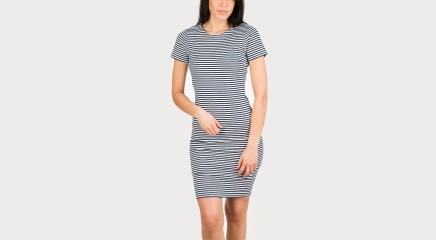 Tommy Hilfiger Kleit THDW KNIT CN DRESS S/S 19