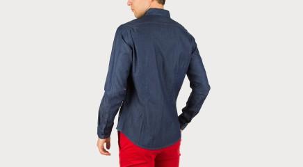 Calvin Klein Джинсовая блузка  Wadol Dobby