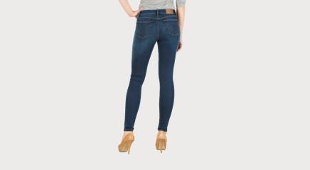 Calvin Klein Teksapüksid Mid Rise Skinny - Silk Mid