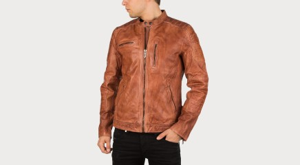 Pepe Jeans Leather jacket Howard