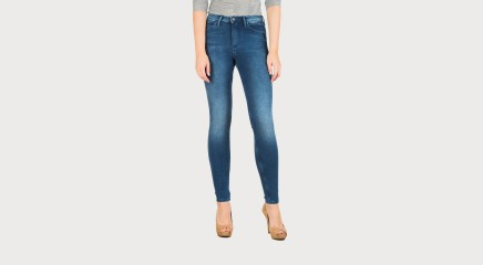 Calvin Klein Teksapüksid Sculpted Skinny - Royal Blue