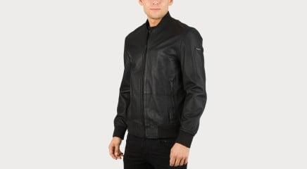 Calvin Klein Кожаная куртка Lewis