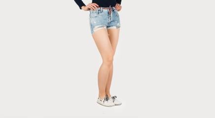 Pepe Jeans Lühikesed teksapüksid Bonita Short