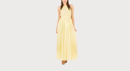 Tommy Hilfiger Maksikleit AGATHA CHIFFON MAXI DRESS