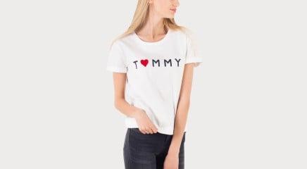Tommy Hilfiger T-särk Tommy Logo Heart Tee