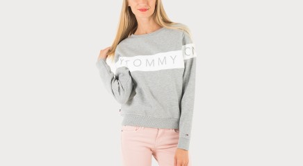 Tommy Hilfiger Dressipluus THDW Basic Graphic CN HNKNIT