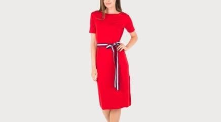 Tommy Hilfiger Kleit Poppy Boat Nk Dress