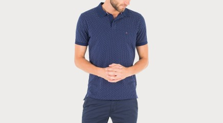 Tommy Hilfiger Polo Bennet Dot Prt Polo