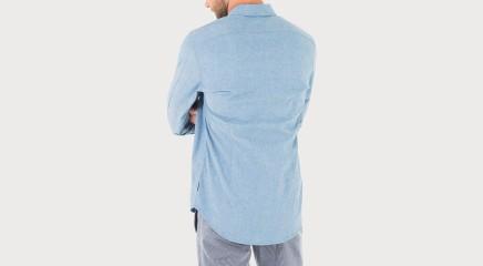 Calvin Klein Shirt Wilmer St Chambray Shirt