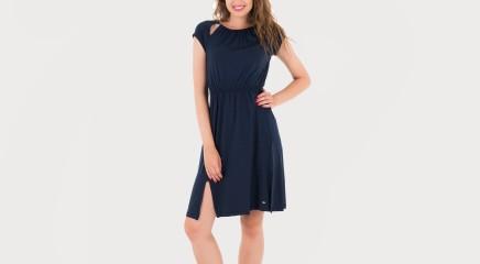 Tommy Hilfiger Kleit Poppy Round-NK Dress Cap