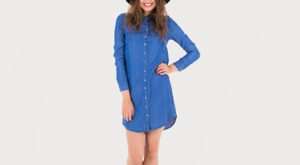 Calvin Klein Kleit Dalene Tencel Shirt Dress