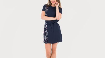 Tommy Hilfiger Kleit Nalise Pleated Dress