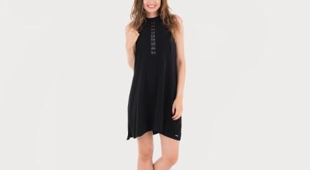 Calvin Klein Kleit Delise A-Line Stud Dress