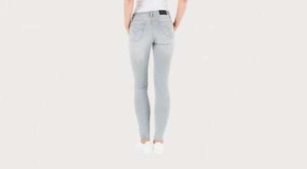 Calvin Klein Teksapüksid MR Skinny - Soft Stone