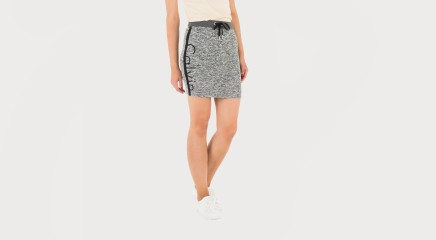 Calvin Klein Seelik Keri Hwk Logo Short Skirt