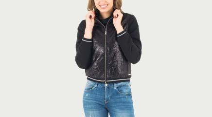 Calvin Klein Jakk Olsa Mix Media Track Jacket