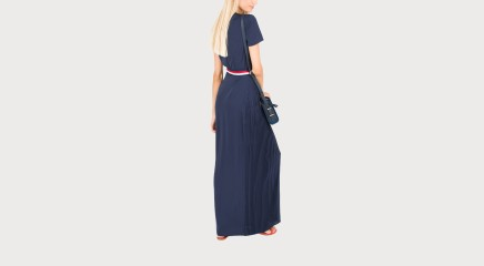 Tommy Hilfiger Maksikleit Nalise Pleated Maxi