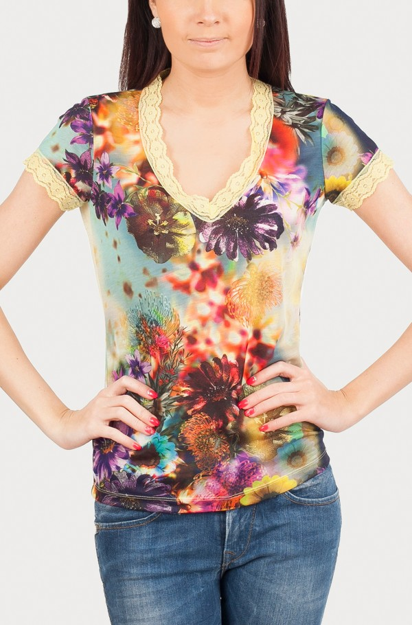 GAIA POLYESTER T-SHIRT