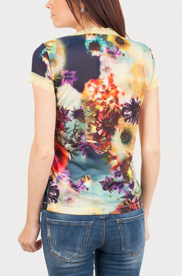 GAIA POLYESTER T-SHIRT-hover