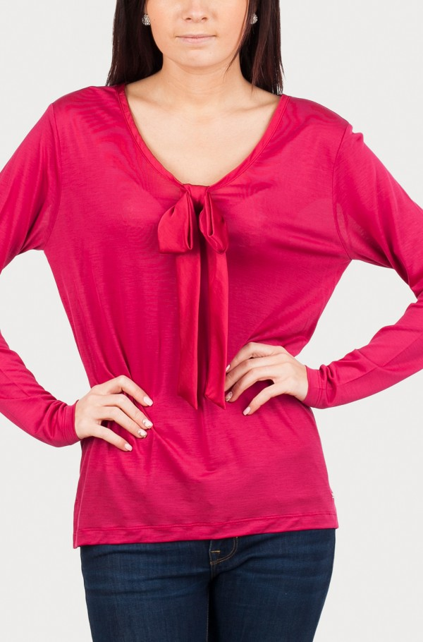 BRANCA BOW V-NK TOP LS