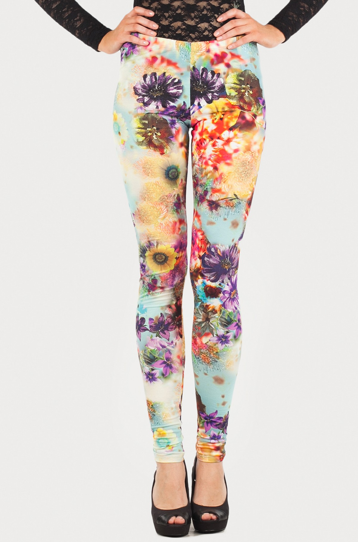 Leggings Skin Long Polyester Pant-full-1